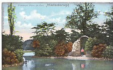 Yorkshire Postcard - Ornamental Water - The Park - Middlesborough   A8585