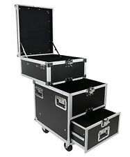 OSP PRO-WORK-SDC Sliding Drawer Flight/Ro/Tour Audio Gear Equipment Utility Case
