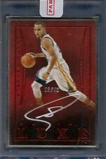 Stephen Curry 14-15 Panini LUXE NBA Signature AUTO Golden State Warriors SP /40