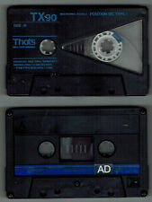That's TX90 & TDK AD90 Used Blank Cassettes