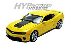 WELLY 1:24 CHEVROLET CAMERO ZL1 DIE-CAST YELLOW 24042