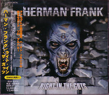 HERMAN FRANK Right In The Guts JAPAN CD Accept Victory Sinner Moon Doc At Vance