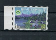 Bosnia Erzegovina Indip 2002 80°anniversario associazione scoutistica  MNH