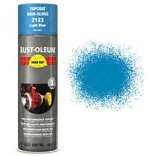 x6 Industriel Rust-Oleum Bleu Clair Peinture En Aérosol Solide Chapeau 500ml RAL