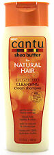 CANTU SHEA BUTTER NATURAL HAIR CLEANSING CREAM SHAMPOO SULFATE-FREE 13.5 FL. OZ.