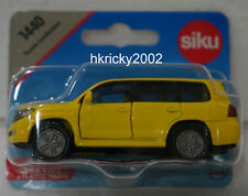 Siku Super 1440 Yellow Toyota Landcruiser Off-road Vehicle Model