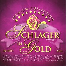 Schlager in Gold  -  Doppel CD  40 Hits