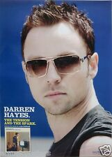 "DARREN HAYES ""THE TENSION & THE SPARK"" THAILAND PROMO POSTER - SAVAGE GARDEN"