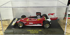 "DIE CAST "" FERRARI 312 T - 1976 GIANCARLO MARTINI   + BOX 1 ""  SCALA 1/43"