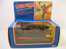 TAC-FORCE AMPHIBIOUS ATTACK BOAT FITS G.I JOE ACTION FIGURES 1982 MINT WITH BOX