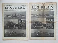 AILES 1938 874 POTEZ 63 DOUGLAS DC-3 ENSIGN SAINT MORITZ WILLIAMS CIGALE AUBERT