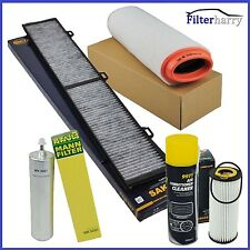 Inspektionspaket Filterset BMW 3er E90 E91 318d 320d bis 09/2007 +Klimareiniger