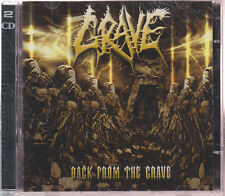 "GRAVE ""Back From The Grave"" CD-Album (+ Bonus Demos CD)"