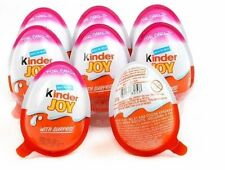 10 X *Girls* - Chocolate Kinder Joy Surprise Eggs Gift Inside Kids Easter Egg
