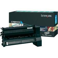 original Lexmark Toner  C780A2CG C780A1CG cyan C780 C780N C782  X782 neu B