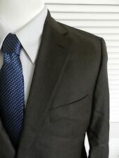 Hugo Boss Paolini/Movio Brown Striped Business Suit $795 42R