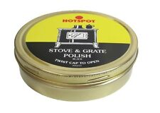 Hotspot Stove & Grate Polish Black 170g Contains Graphite