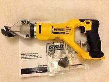 New Dewalt DCS496B 20V 20 Volt Max 18 Gauge Swivel Head Offset Shear