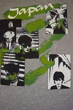 vtg 80's David Sylvian Japan 50/50 Punk Rock New Wave Band t shirt Small i#1983