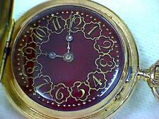 18ct Gold Full Hunter Pocket Watch