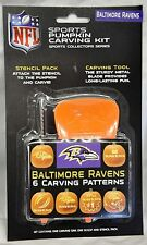 Baltimore Ravens Halloween Pumpkin Carving Kit NEW! Stencils for Jack-o-latern