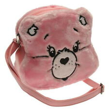 Care Bear Pink Ladies Girls Handbag Bag, Iron Fist Funky Fancy Dress Brand New