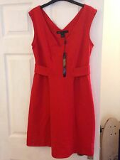 Marc Jacobs Red Dress Size M, New With Tags