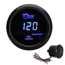 "New 2"" 52mm 120 PSI Digital Blue LED Oil Pressure Press Gauge for Auto Car US"