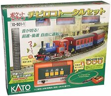KATO N gauge 10-501-1 Chibiroko SL train total set japanese no battery