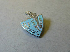 Enamel Badge for the Worthing and District Piscatorial Society Fishing Club