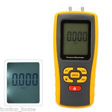 GM510 USB LCD Digital Manometer Gauge Differential Air Pressure Meter 10kPa Test