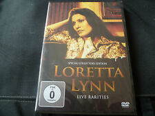 Loretta Lynn - Live Rarities (NEW DVD) ME AND BOBBY MCGEE COAL MINERS DAUGHTER