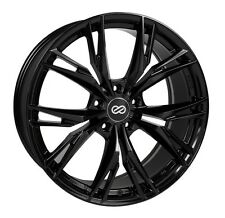18x8 Enkei ONX 5x108 +40 Gloss Black Rims Fits Ford Taurus Sho Mercury