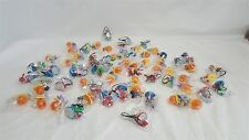 Rare Dragonball Z / Pokemon Mini Figure Keychain lot of 67 pcs NEW!