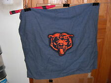 Chicago Bears BEAR LOGO denim blue jeans material banner 2 feet