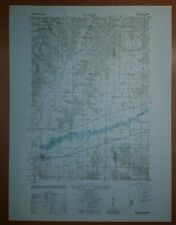 1940's Army Topo Map Bangor Wisconsin  2871 IV NW