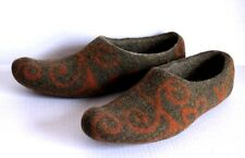TUMAR Felted Wool Aladdin Slippers House Shoes Size XXL 45/46 US 12 Cosplay