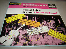 Mantovani and his Orchestra Song Hits From Theatreland LP EX London PS125