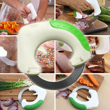 Rolling Knife Circular Pizza Wheel Knife Cutter Vegetable Slicer Kitchen Tool F