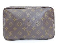 Vintage Louis Vuitton Monogram Toiletry Cosmetic Travel Tote Bag Makeup Case 986