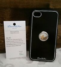 L@@K iPhone Case 4 4s Holy Element Israel Christian Black Soil Cross NEW