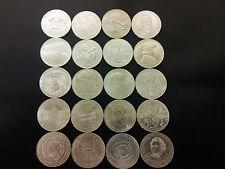 20 Silbermünzen 50 Schilling Österreich von 1959 bis 1978 - kompletter Satz