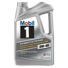 Mobil 1 0W-40 Advanced Full Synthetic Motor Oil 5 qt