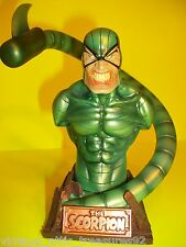 Vtg Marvel Mini Bust SCORPION in Comic Books Super Villian!