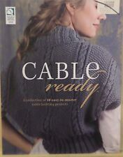 CABLE READY - Knitting Pattern Softcover Book - From Annie's Attic - NEW