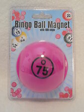 Bingo Chips Bingo Ball Magnetic Pick-up Storage System Purple