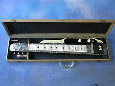 1951 SUPRO LAP STEEL GREY AND WHITE MOTHER OF PEARL