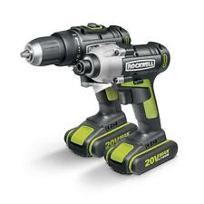 RK1806K2 20V Lithium Ion Drill and Driver Combo Kit by Rockwell