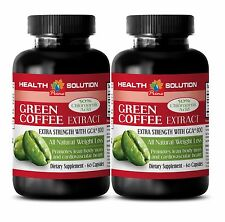 Raspberry Ketone Plus - GREEN COFFEE EXTRACT 800mg - Reduces Fat Gain - 2Bot