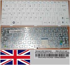 Clavier Qwerty UK ASUS EEEPC EEE PC 1000 V021562HK2 04GOA0D1KUK00-1 Blanc/White